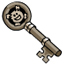 Captain's Quarters Key Pin