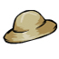 Safari Hat Pin