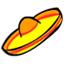 Sombrero Pin