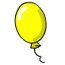 Yellow Balloon Pin